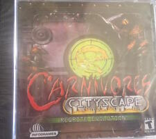CARNIVORES CITYSCAPE (2002) PC CD-ROM NEW & FACTORY SEALED