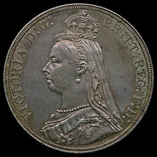 1887 Queen Victoria Jubilee Head Silver Crown – AU
