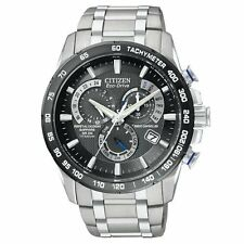 Citizen Eco Drive AT4010-50E Titanium Perpetual Calendar Chronograph AT Watch