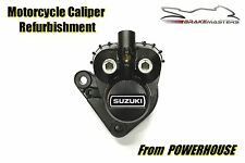 Suzuki GT 250 73-76 front brake caliper refurbishment service 1973 1974