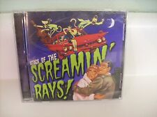 ATACK OF THE SCREAMIN' RAYS cd Crystal Lewis Christian Rockabilly