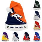 NFL 2013 Swoop Team Logo Plush Christmas Santa Hat - Pick Your Team!