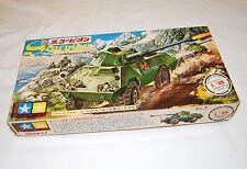 VINTAGE TAMIYA MOKEI Scorpion Tank 4 by 4 Mowag Motorized Japan