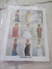 10 Princess Diana 1997 Collectors Society Stamps + COA's TOGO Togolaise Gowns