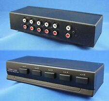 Stereo 5 Way Audio Source Selector Switch Box - 74-1040