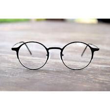 1920s Vintage eyeglasses oliver retro round frames 58R27 Black Eyewear rubyruby