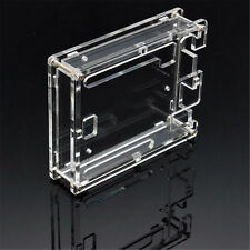 1x Clear Cover Enclosure Transparent Acrylic Box Case Kit for Arduino