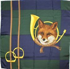 """Belvedere Made in Austria Silk Foxhead 34""""Sq Scarf"""