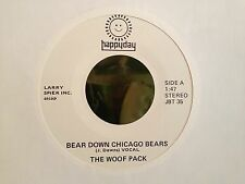 """WOOF PACK, THE bear down chicago bears MINT HAPPYDAY 7"""" 45 COUNTRY"""