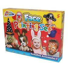 Grafix Children's Face Painting Set with Accessories - Fancy Dress Party