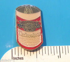 BUDWEISER Beer  Can  - hat pin , lapel pin , badge , hatpin GIFT BOXED