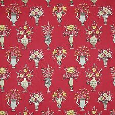 Free Spirit Tea Garden Chai Red Cotton Quilt Quilting Fabric by the Yard