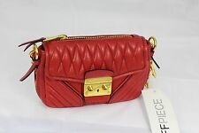 Miu Miu Red mini Leather Handbag bag, RRP £625
