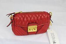 Miu Miu Red mini Leather Handbag bag, RRP £625