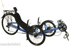 Performer Recumbent/Trike JC70AL-FRP X.9 30speed