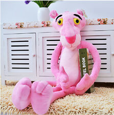 "28""H The Pink Panther Leopard Plush Stuffed Toy Doll Pillow Cushion Lover Gift"