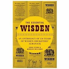 THE ESSENTIAL WISDEN - JOHN STERN MARCUS WILLIAMS (HARDCOVER) NEW