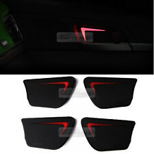 Red LED Door Catch Inside Handle Plate For KIA 2017 Sportage QL