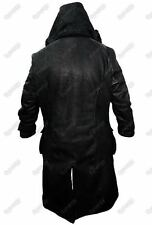 Mens RAF Aviator B3 Shearling Sheepskin WW2 Leather Black warm Flying Long Coat