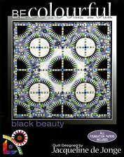 BLACK BEAUTY QUILTING PATTERN, Foundation Paper Piecing From Becolourful NEW