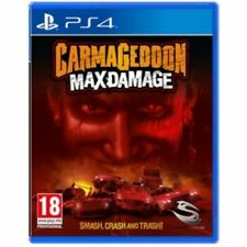 Carmageddon Max Damage PS4 Game Brand New