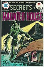 **SECRETS OF HAUNTED HOUSE #1**(MAY 1975, DC)**CLASSIC COVER!**HIGH GRADE!**NM**