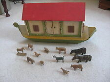 Vintage Folk Art Noah's Ark - With Animals