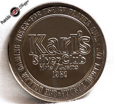 $1 SLOT TOKEN COIN KARL'S SILVER CLUB CASINO 1982 LM MINT SPARKS NEVADA RARE NEW