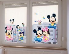 2016 Cartoon Mickey Mouse Minnie Art Wall Stickers Decals Living Room Home Decor