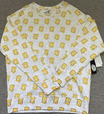 Eleven Paris The Simpsons Sweatshirt Bart '89 Cast of Characters Print Large