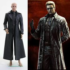 Resident Evil 5 Albert Wesker Coat Jacket Costume Cosplay *Custom Made*