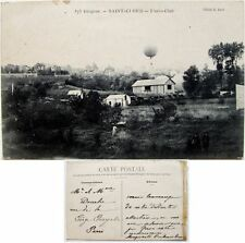 Cpa 92 Saint-Cloud Diogène aéro-club montgolfière aviation aérostat  ballon