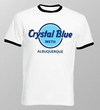 Breaking Bad Crystal Blue Meth Heisenberg Jesse ringer printed t-shirt 9636