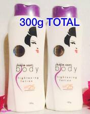 2 Tubes Kojie San Kojic Acid Skin White Whitening Lighten Total300g Body Lotion