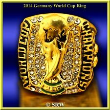 2014 Germany FIFA World Cup Championship Ring  SIZE 10.75 W/WOOD DISPLAY BOX