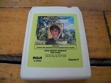 ELVIS PRESLEY COUNTRY MEMORIES TWIN SET 1978 RCA 8 TRACK TAPE S244069 TESTED