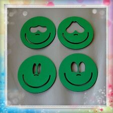 Plantillas para cara de fofuchas de 5cm de diámetro, 4 modelos