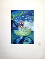 "Lithographie - Bernard FORTIN, ""Communication"""