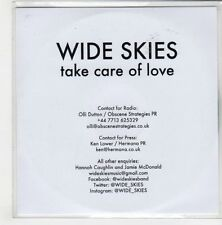 (GN779) Wide Skies, Take Care Of Love - 2015 DJ CD