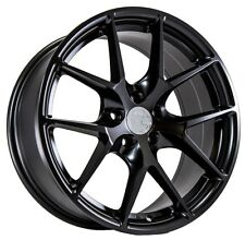 Black 17X7.5 +35 AodHan LS007 5X120 Wheel Fits Bmw 325 Z3 Z4 X1 X3 5X4.75