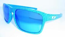 Oakley Sliver Fingerprint Sunglasses Sky Blue w/ Sapphire Iridium OO9262-17