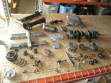 1978 Yamaha XS1100 Electric Starter Swingarm Crankshaft Oil Pan Etc Parts Lot