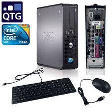 Dell Optiplex 755 C2D 3.0 GHz 4GB RAM 250 GB HDD Combo Linux Mint SFF Desktop