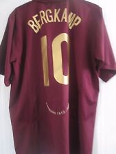 Arsenal 2005-06 CL Bergkamp Highbury Redcurrant Football Shirt XXL Trikot /41013