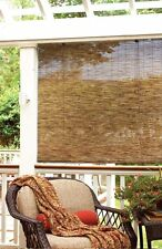 "Bamboo Reed Blinds Indoor Outdoor Roll Up Shade Patio Window  Porch 72"" x 72"" NE"