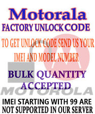 PERMANENT UNLOCK CODE FOR  Motorola Q9h