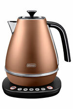 NEW Delonghi KBI2011CP Distinta Temp Kettle: Copper