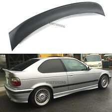 BMW E36 CSL Rear Boot Lid Trunk Spoiler Ducktail Wing Lip Addon Compact Hatch