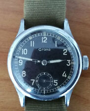 Grana German Military Fixed Lugs Mens Vintage Watch
