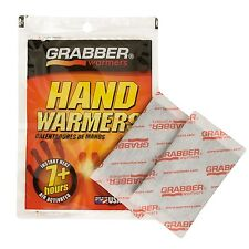 Grabber Hand Warmer Heat Packs NEW / 4 Pair Pack / Free Shipping